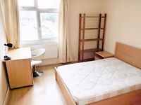 A huge double room moments from Victoria Park and Roman Road Market!!!