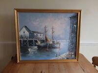 Coastal Oil Painting