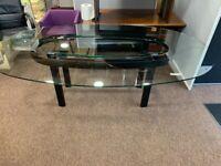 2.4m glass 8 person boardroom table