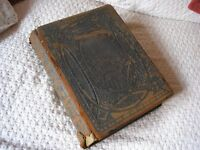Very old Browns Selfinterpreting Family Bible