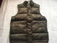 Adidas men's bodywarm vest jacket padded full zipper size M used £15