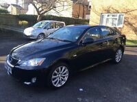 2008 lexus is220d DULLY LOADED black with black leather , low mileage , quicke sale