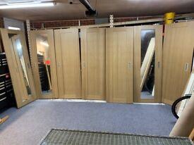 Set of 7 Hammonds Sliding Doors