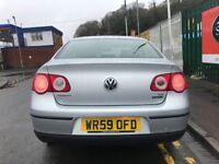 2009 (59 reg) Volkswagen Passat 1.6 TDI BlueMotion Tech 2 4dr Saloon Turbo Diesel