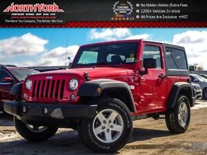 2017 Jeep Wrangler New Car Sport|4x4|Connectivity,Power,Lighting