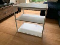 IKEA white shelf — PLATSA