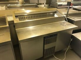 COMMERCIAL KITCHEN EQUIPMENT CATERING FAST FOOD PIZZA SALAD MEZE TOPPING FRIDGE SHOP