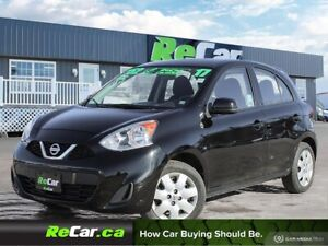 2017 Nissan Micra SV AUTO   AIR   ONLY $52/WK TAX INC. $0 DOWN
