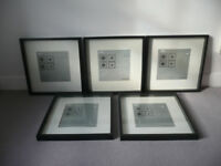 IKEA Picture frames x 5