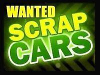 Wanted scrap car in London scrap my car