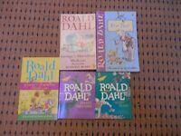 5 brand new Roald Dahl's Books