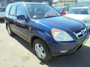 2002 Honda CR-V MY02 (4x4) Sport Blue 4 Speed Automatic Wagon Punchbowl Canterbury Area Preview