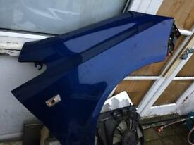 Corsa wing blue Vauxhall corsa facelift wing fender driver side/off side wing 2008/2007/2009/2006