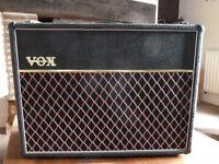 Vox AC30 valve vintage guitar amp