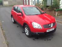 2008 57reg Nissan Qashqui Acenta 2.0 DCi Red Good Runner