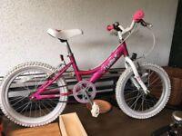 Girls Dawes Lottie Bike - Hardly ever used - just sat in shed