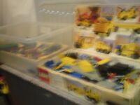 vintage lego and 5 motors