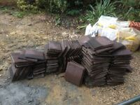 Free to collector - Roof tiles surplus to requirement. Approx 250 in total