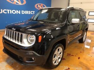 2018 Jeep Renegade Limited LIMITED! 4X4/ NAVI/ HEATED LEATHER...
