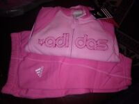 BRAND NEW WITH TAGS HOODED ADIDAS TRACKSUIT.`baby /toddler..