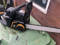 McCulloch petrol lawnmower chainsaw