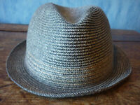 H&M Summer Straw Trilby. Large 60