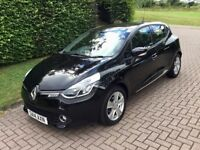 2014 (14) Renault Clio 1.2 16v Dynamique MediaNav 5dr. 12 Months MOT. Immaculate Condition.