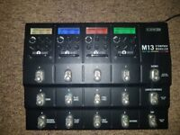 Line6 m13 Stompbox Modeller With a Case