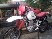 Honda XR600R 1997 12000 miles only 12 months mot no advisory