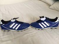 Football boots - Kaiser 5 blue worn once size 8