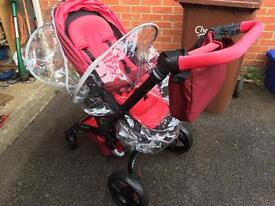 Jane infant travel system car seat and pushchair