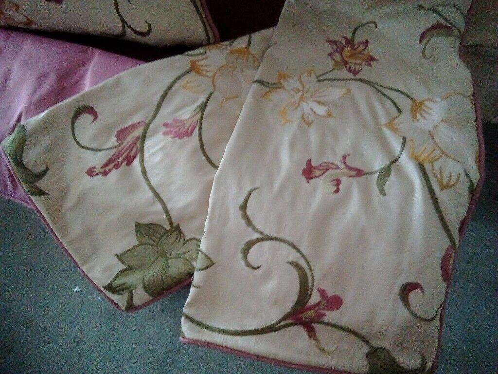 Beautiful silk cushions covers