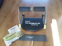 SMART WONDER CORE, DVD, EXERCISE GUIDE, NON-SLIP MAT AND USER'S GUIDE