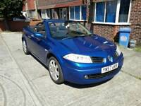 Renault Megane convertible , 1.9 diesel, only 66000 miles, one owner from new, full service history