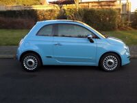 2011 FIAT 500 LOUNGE TWIN AIR, MOT 12 MONTHS, ROAD TAX £0, SERVICE HISTORY