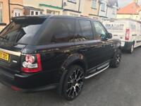 """22""""team dynamics wheels and tyres range rover sport porsche cayenne bmw x5 and more"""