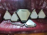 Vintage Roland Drum Pads