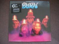 DEEP PURPLE - BURN - 180gm Vinyl LP NEW & SEALED (plus MP3 download)