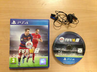 fifa 16 with headphones playstation 4 ps4 game football