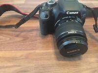 Canon EOS Rebel t3i 600d, DSLR CAMERA, including zoom EFS18-55mm lens. £200.00