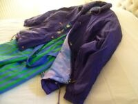 ski jacket and complementary trousers