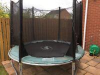 Free for immediate uplift - 8ft plum trampoline