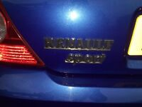 Renault Clio Sport, blue, 2004, real bargain.