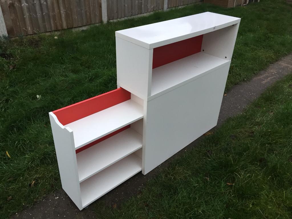 Ikea Flaxa Headboard Storage Unit In Beeston