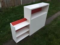 Ikea Flaxa Headboard Storage Unit