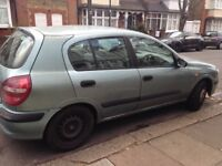 Nissan Almera for spares or repair