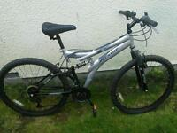 Man's mountain bike Dunlop Sport special edition dual suspension