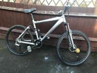 Chrome carrera banshee mountain bike full suspension will post