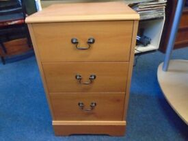 small modern bedside cabinet.