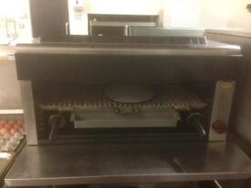 Gas commercial catering grill